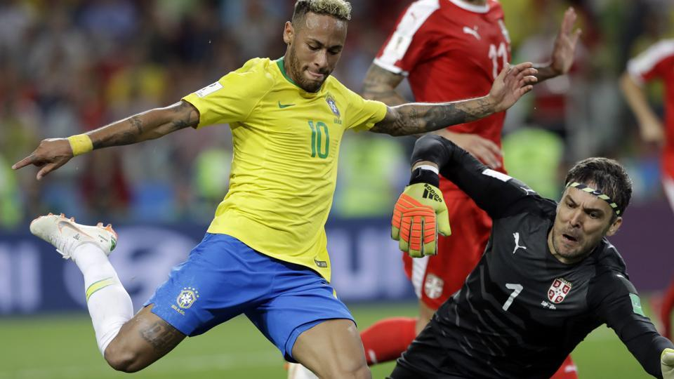 FIFA World Cup 2018,Brazil football team,Neymar