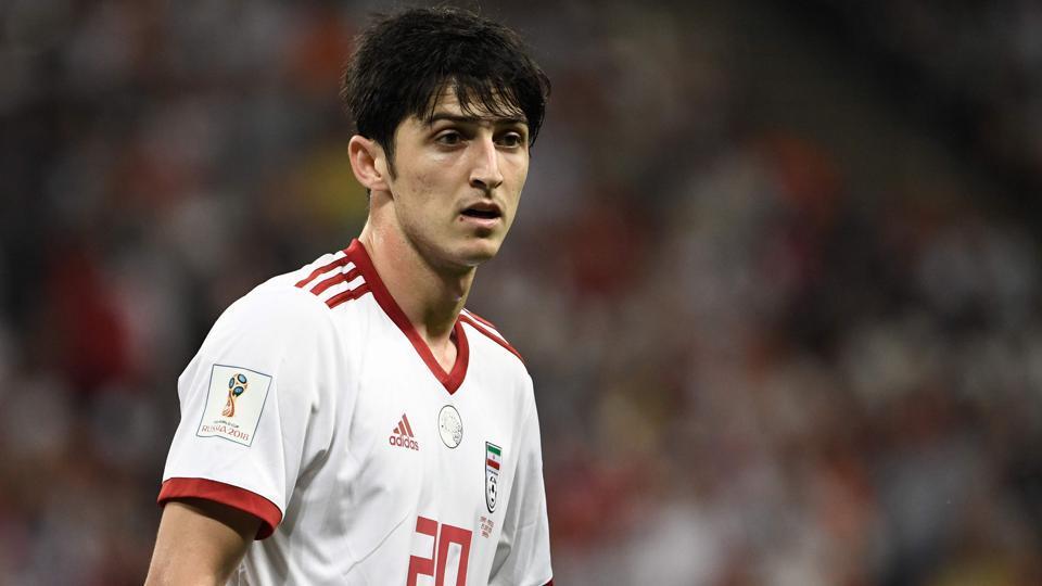 FIFA World Cup 2018,Sardar Azmoun,Iran national football team