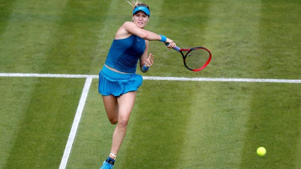 Eugenie Bouchard,Wimbledon,Mariana Duque-Marino