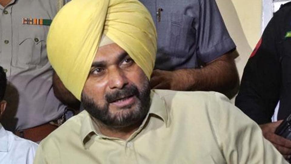Afile photo of Punjab local bodies minister Navjot Singh Sidhu.