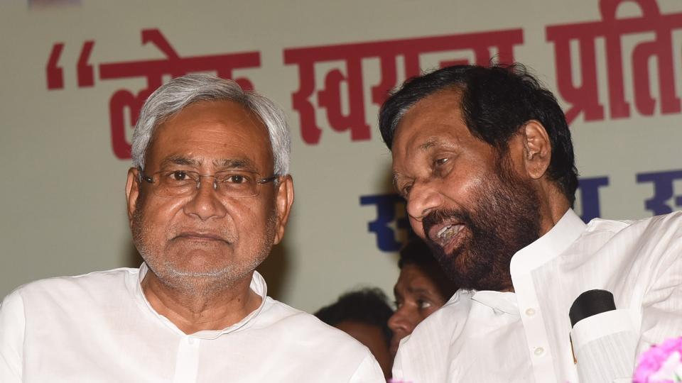 Nitish Kumar,Ram Vilas Paswan,JD(U)