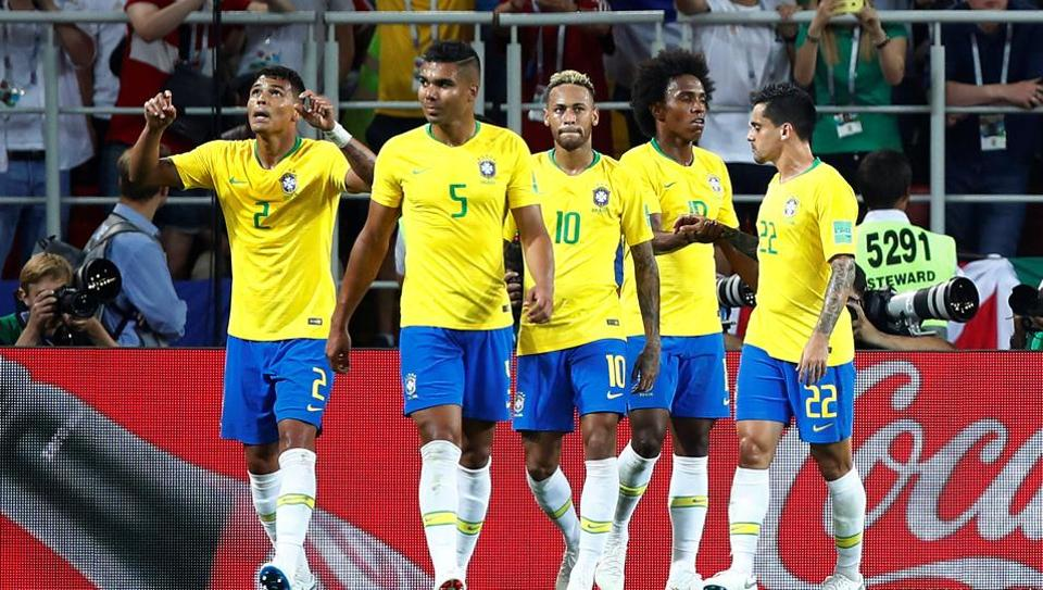 Brazil defeated Serbia 2-0 to qualify for the pre-quarterfinals of FIFA World Cup 2018.