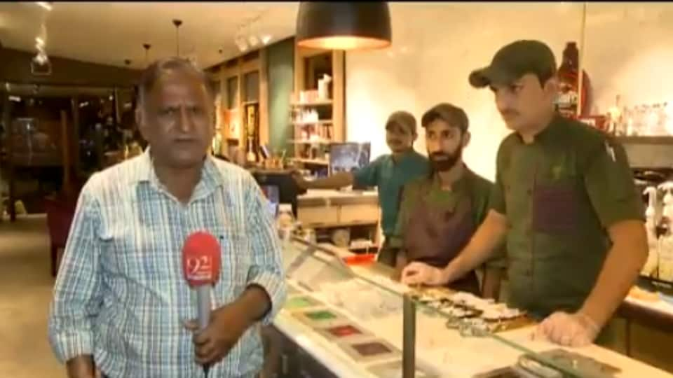 Pakistani TV journalist Chand Nawab is back with another video and it's funnier than before (Twitter)