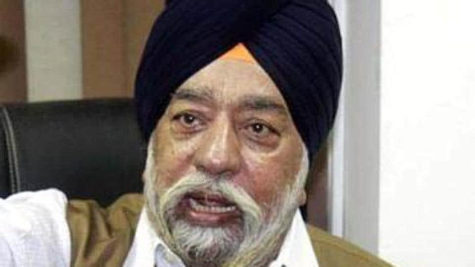 Captain Amarinder Singh's religious adviser, Paramjit Singh Sarna.