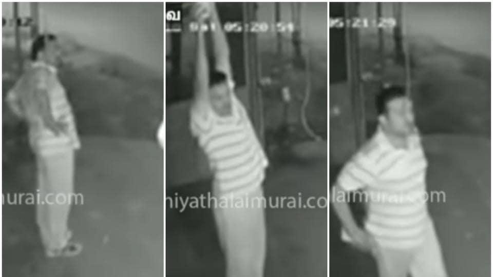 Tamil Nadu man,steal bulb,viral