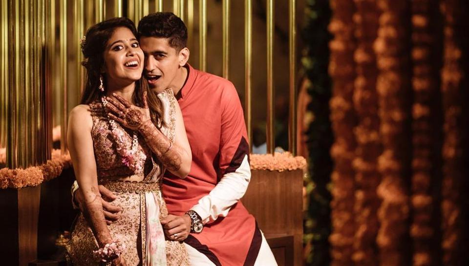Shweta Tripathi,Chaitanya Sharma,Shweta Tripathi Chaitanya Sharma wedding