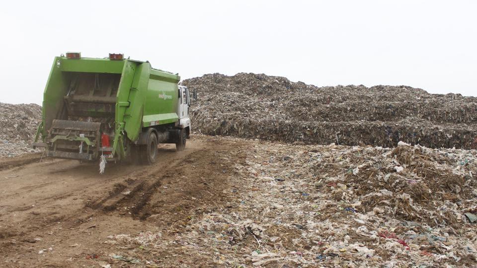Gurugram,Bandhwari landfill,pollution