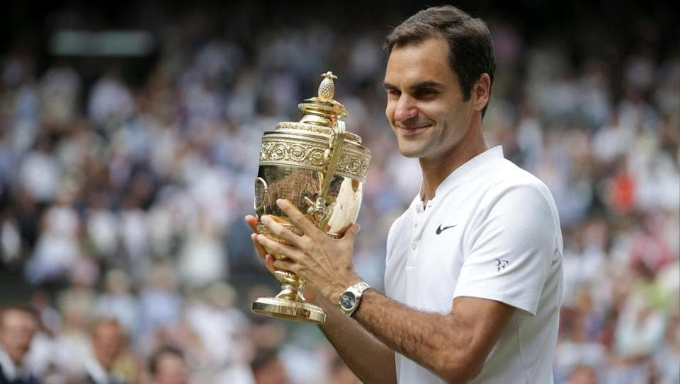 Swiss tennis maestro Roger Federer will begin his title defence at Wimbledon against Dusan Lajovic.