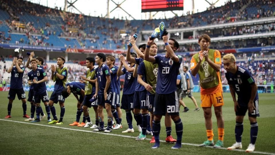 Japan and Senegal both finished with same points, goal difference and goals scored but the Asian team moved ahead on the basis of Fair Play. (REUTERS)