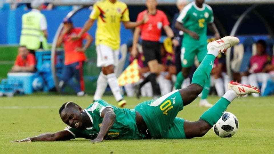 Senegal, on the other hand, only needed a draw to progress to the next stage of the World Cup in Russia. (REUTERS)