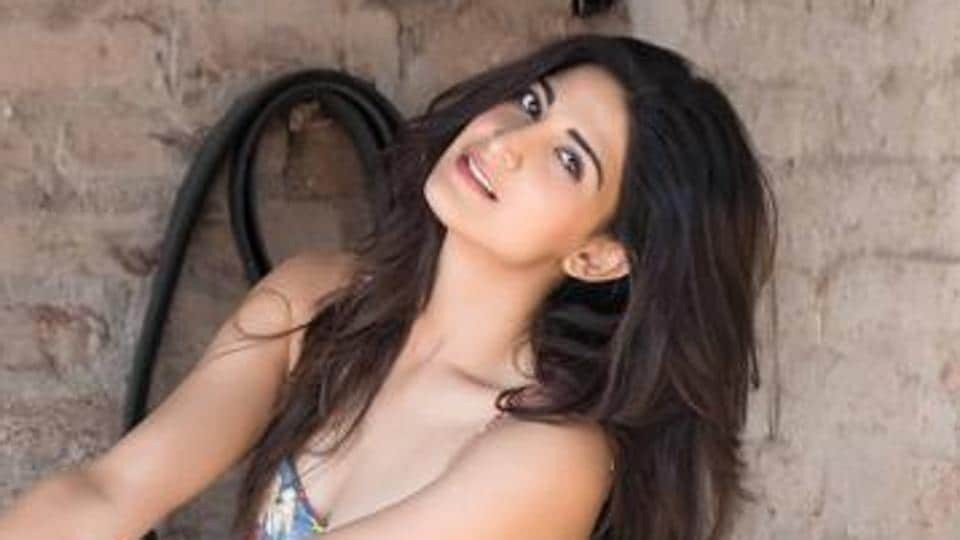 Actor Aahana Kumra plays the role of Priyanka Gandhi Vadra in The Accidental Prime Minister.