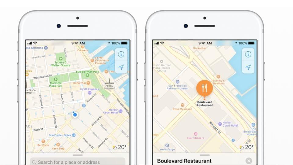 Apple,Apple Maps Rebuild,Apple Maps Redesign
