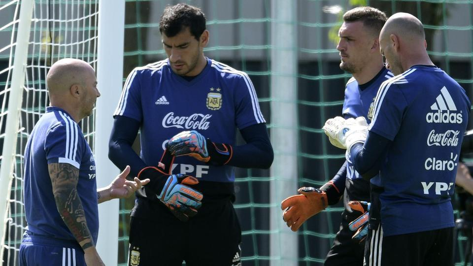 Image result for argentina goalkeepers world cup 2018