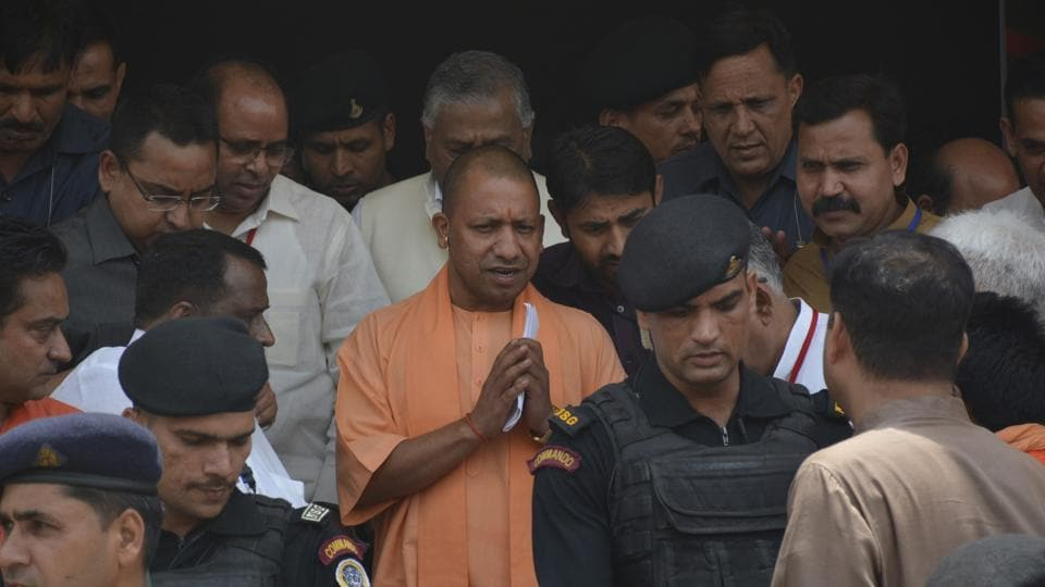 Uttar Pradesh chief minister Yogi Adityanath's father, Anand Singh Bisht was admitted to the emergency unit of All India Institute of Medical Sciences (AIIMS) in Rishikesh on Friday.