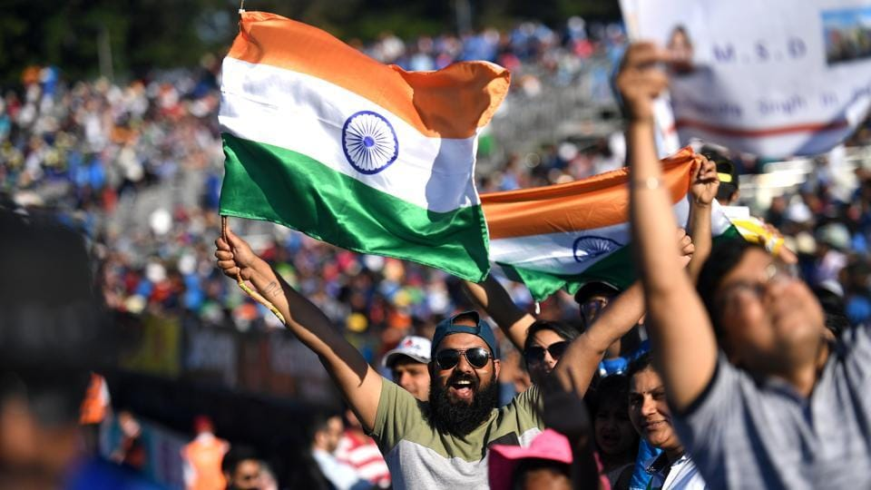 India fans got to witness their team put in a dominant performance.  (REUTERS)