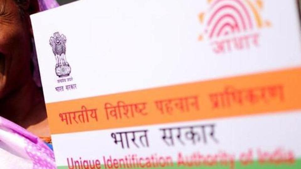 Both men were arrested after police received a tip-off about the illegal Aadhaar card centre.