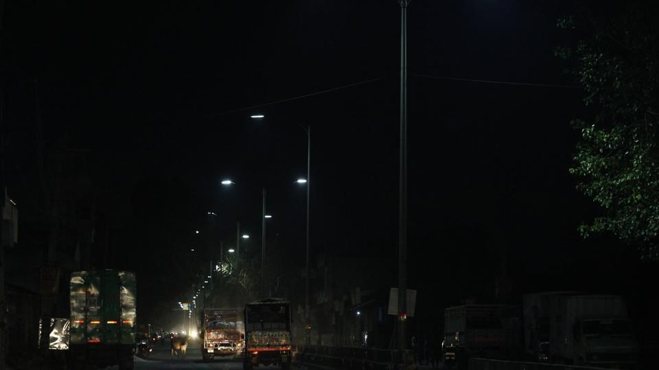 Municipal Corporation of Gurugram,MCG,LED streetlights