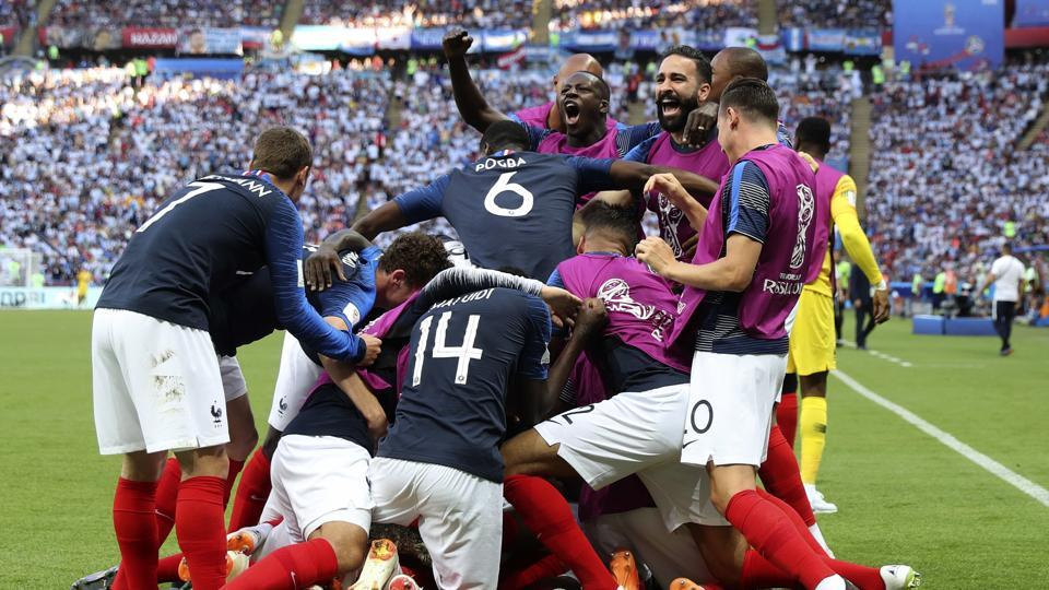 France defeated Argentina to reach the quarterfinals of the FIFAWorld Cup 2018 in Kazan on Saturday. Get highlights of France vs Argentina FIFA World Cup 2018 Round of 16 match here.