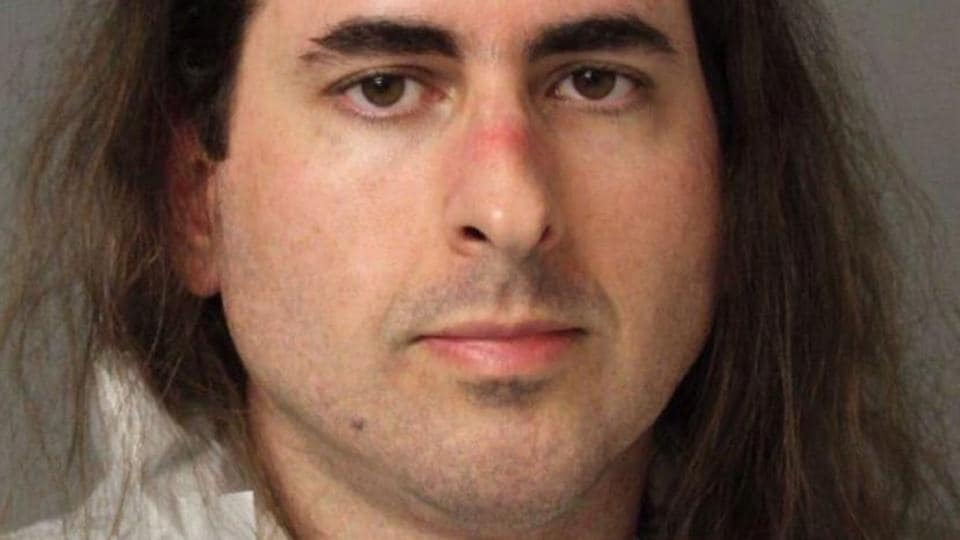 This undated handout photo obtained from the Anne Arundel Police shows Jarrod Ramos, the suspected Capital Gazette newspaper shooter.
