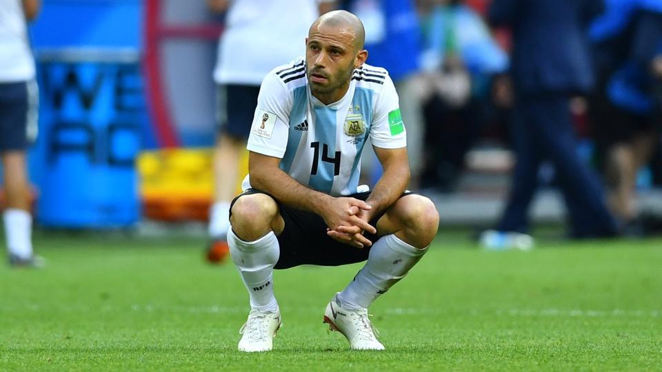 FIFAWorld Cup 2018,Javier Mascherano,Javier Mascherano retirement
