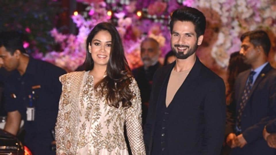 Mira Rajput Kapoor is giving us pregnancy style goals with her nude and gold traditional Indian look. (Instagram)