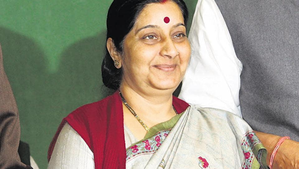 Sushma Swaraj,Online trolls,Twitter