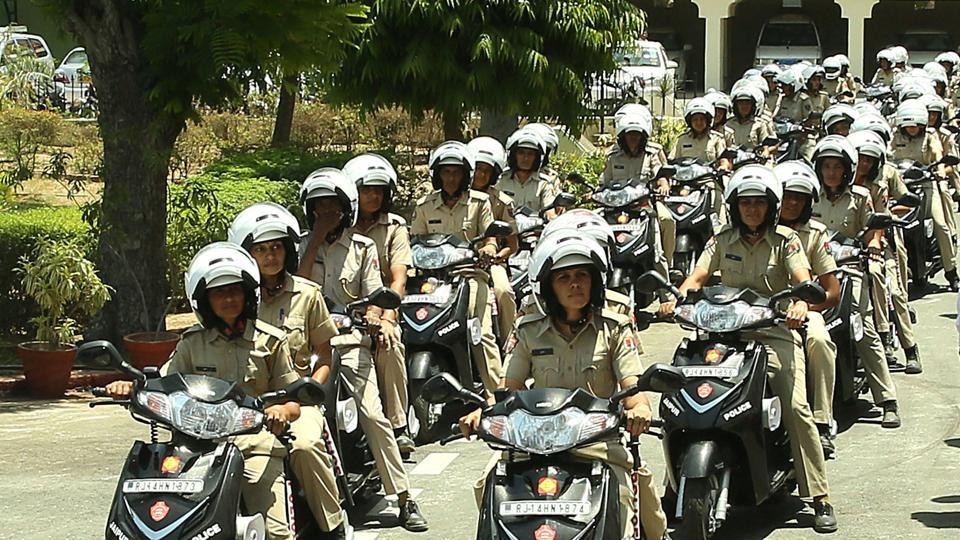 The Rajasthan police also has a lady police patrol unit for women's safety in Jaipur. They are also using technology, such as drone cameras, to fight crime in the state.