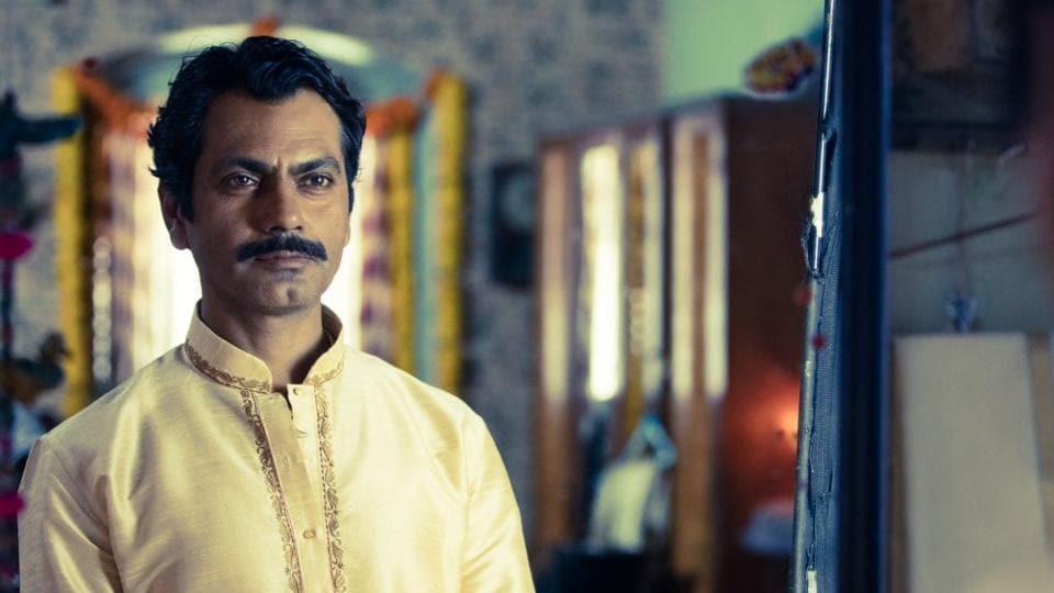 Nawazuddin Siddiqui as Ganesh Gaitonde in Sacred Games.