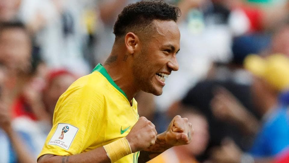 Neymar opened the scoring for his side with his sixth World Cup goal. (REUTERS)
