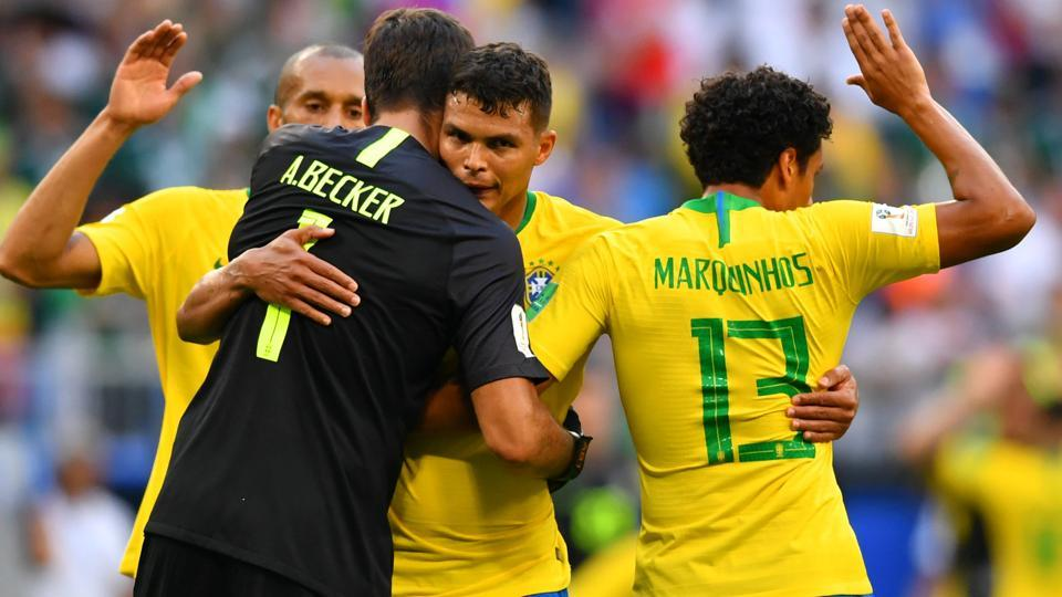 Brazil will now face Belgium or Japan in the FIFA World Cup 2018 quarter-finals. (REUTERS)