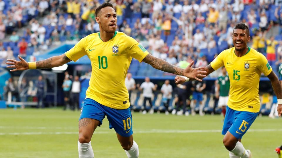 Brazil beat Mexico 2-0 to reach the FIFA World Cup 2018 quarter-finals on Monday. (REUTERS)