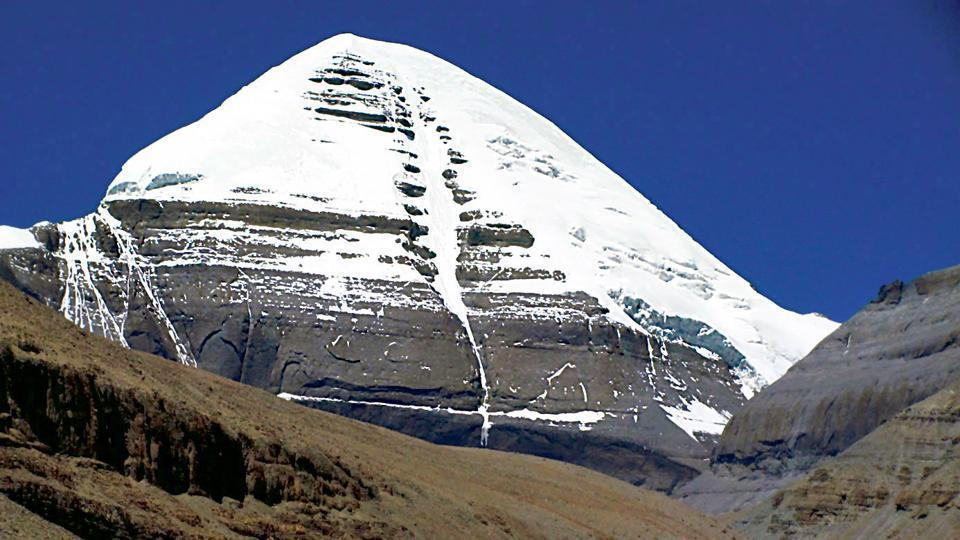 The pilgrimage to Kailash Mansarovar in Tibetan region of China is considered holy by Hindus, Buddhists and Jains.