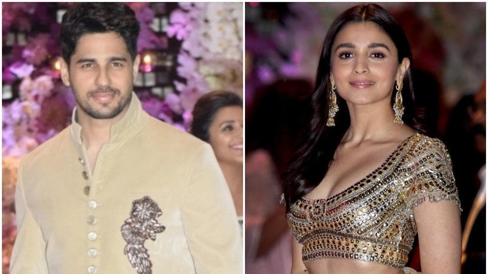 Sidharth Malhotra and Alia Bhatt broke off last year.