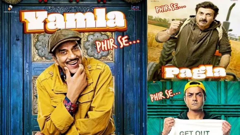 Yamla Pagla Deewana Phir Se,Dharmendra,Sunny Deol