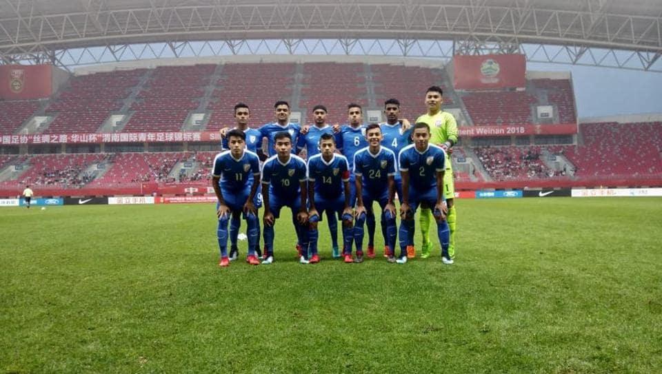 India U-16,India vs China,Four-Nation Football Tournament