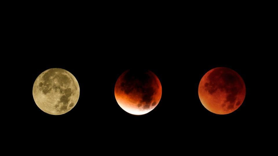 The partial eclipse of the moon will start around 11.54 pm Indian Standard Time, with the total eclipse beginning at 1 am on July 28.