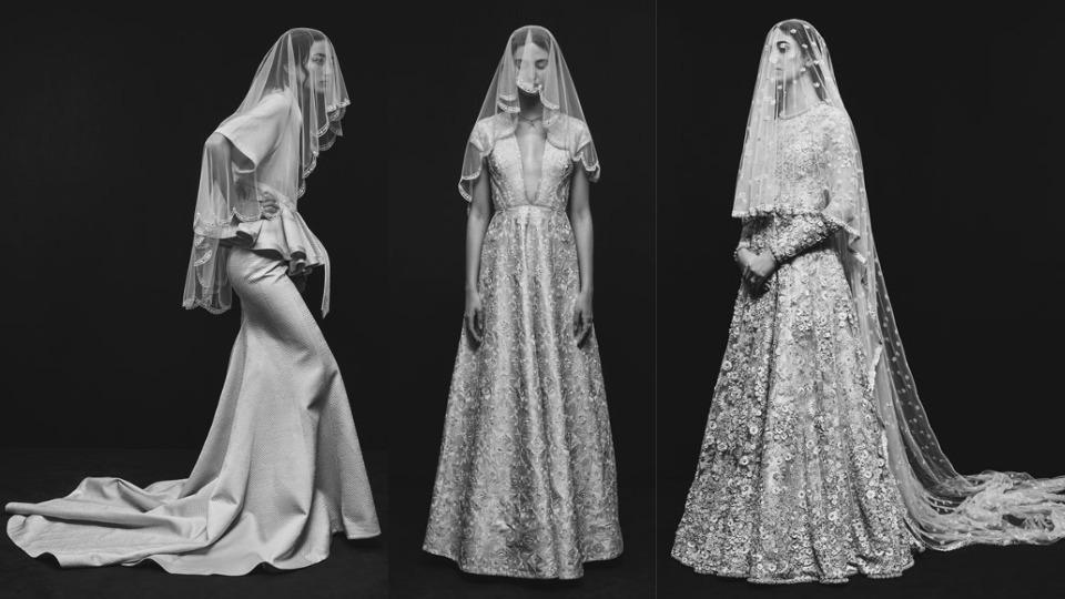 Sabyasachi Mukherjee is officially making of-the-moment white wedding dresses and you can see his versatile bridal gowns right here. (Instagram)