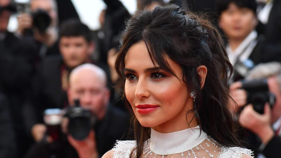 British singer Cheryl Cole poses as she arrives on May 11, 2018 for the screening of the film Ash is Purest White at the 71st edition of the Cannes Film Festival in Cannes.