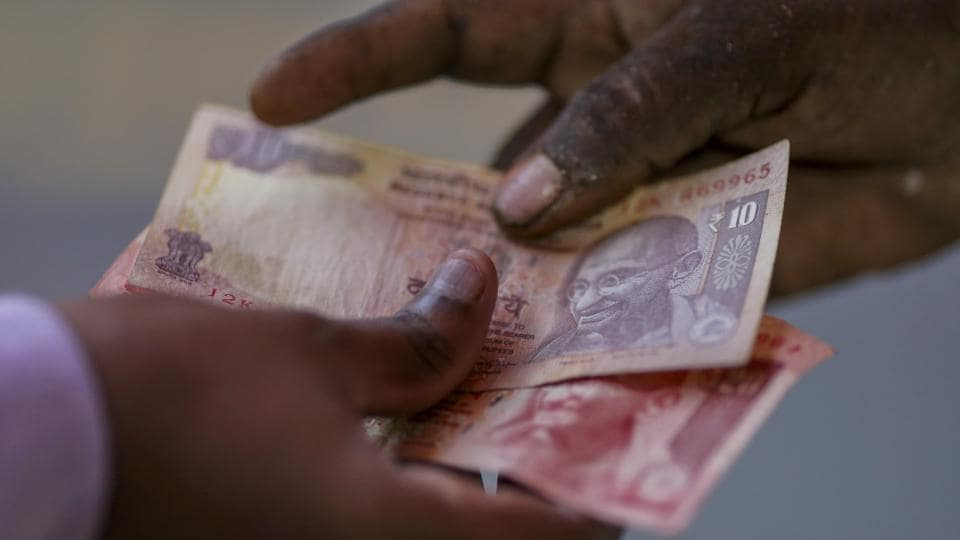 The rupee had breached the lifetime low and crossed the Rs 69 to a dollar level last week.