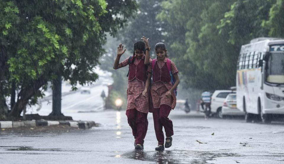 MeT,India Meteorological Department,Delhi rains