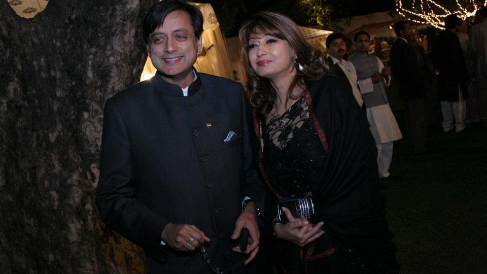 Congress leader Shashi Tharoor on Tuesday moved a Delhi court seeking anticipatory bail in the case related to the death of his wife Sunanda Pushkar. The politician's plea was filed before Special judge Arvind Kumar who sought Delhi Police's response and kept it for hearing on Wednesday. Tharoor was earlier summoned as an accused by a magisterial court for the alleged offences of abetment of suicide and committing cruelty towards Pushkar. (Manoj Verma / HT File)