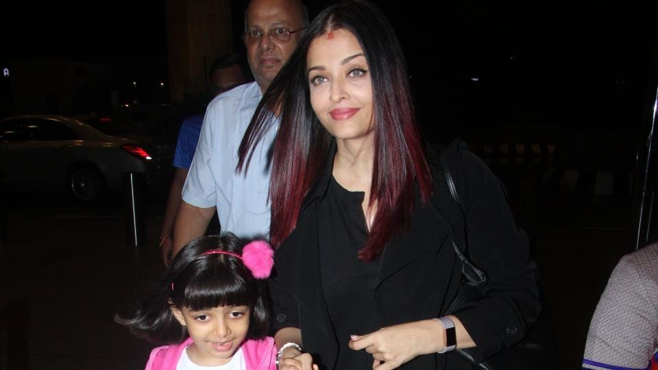 Aishwarya Rai Bachchan,Aaradhya Bachchan,Abhishek Bachchan