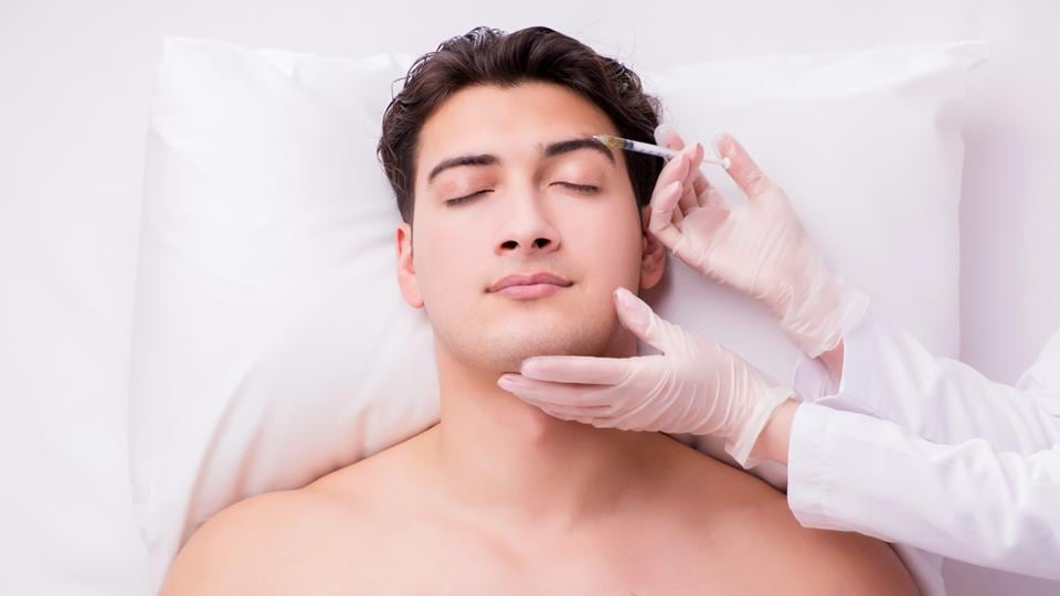Brotox: On average, male Botox customers are about 42 years old, Meury said, though some are as young as their 20s.