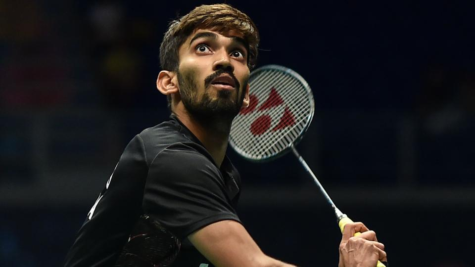 Srikanth Kidambi lost to Kento Momota in the first round of the Indonesian Open badminton tournament on Wednesday.