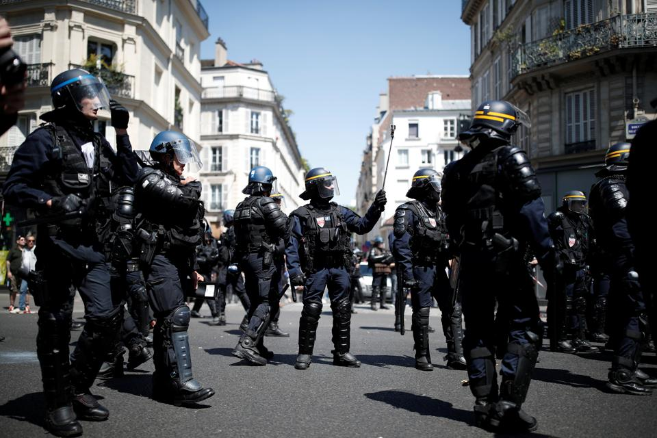 Nantes,France,French police