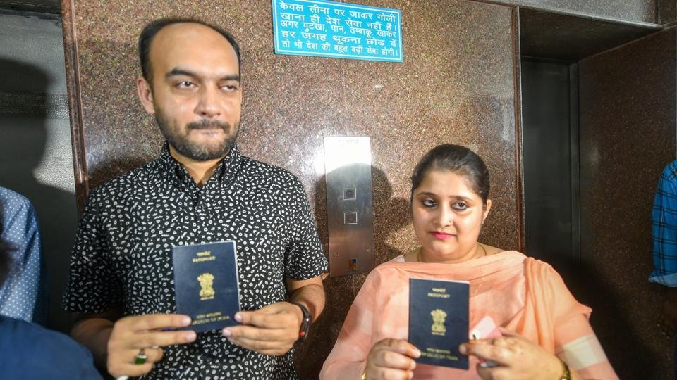 Lucknow interfaith couple,Lucknow,Lucknow couple passport row