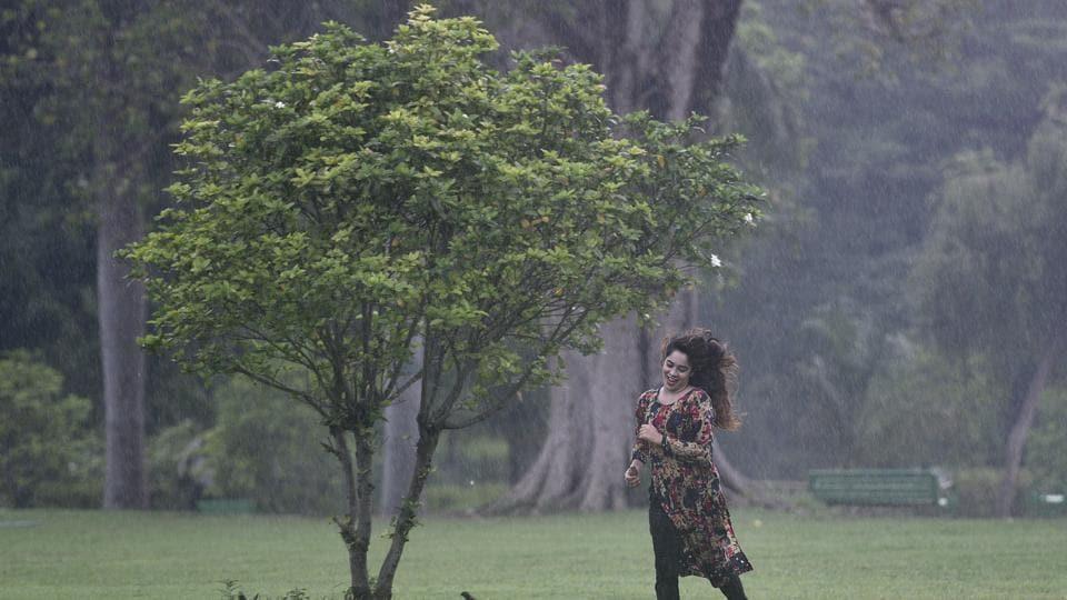 Delhi weather,delhi monsoon,Rains in Delhi