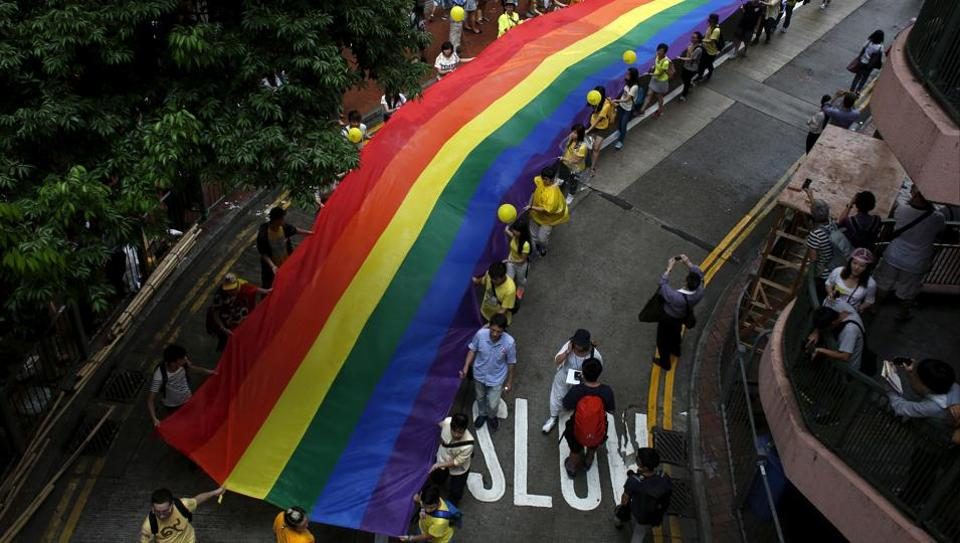 The announcement followed the results of Britain'slargest survey of LGBT people covering more than 108,000 respondents, which showed theyexperience prejudice on a daily basis.