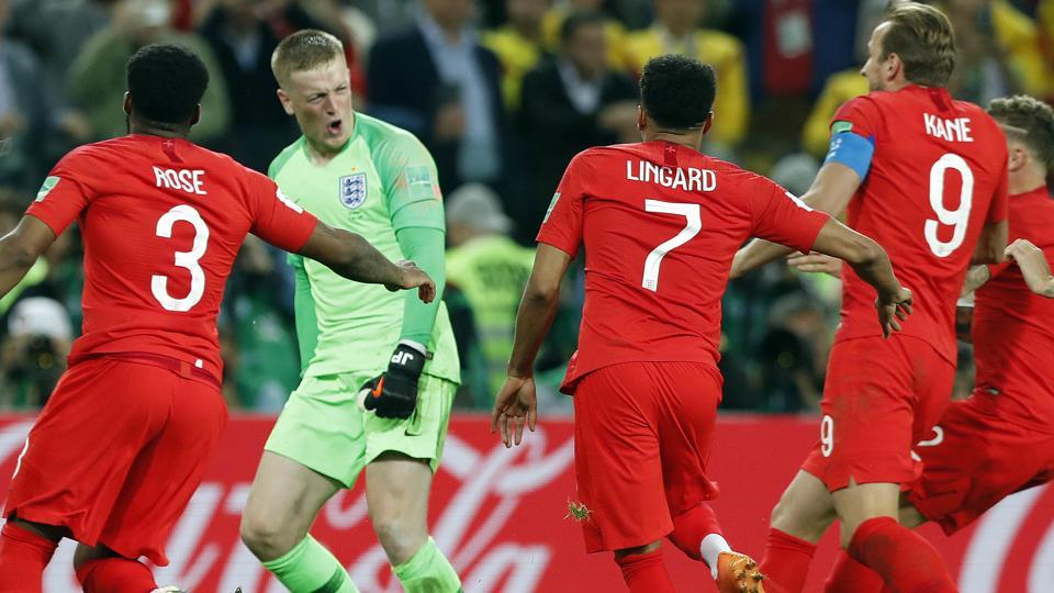 FIFA World Cup 2018,England,Colombia