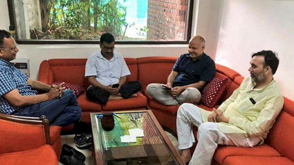The Arvind Kejriwal-led Delhi government and the Centre have had showdowns on several issues such as the appointment of officers, getting approvals for government projects and control over the state's anti-corruption branch.